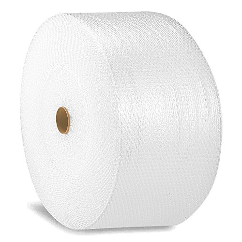 PacificMailer Bubble Cushioning Wrap Roll 12'' x 700' x 3/16'' Large, Perforated Every 12'' for Packaging, Shipping, Mailing by PacificMailer
