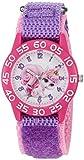 Disney Girl's 'Palace Pet' Quartz Plastic and Nylon Watch, Color:Purple (Model: W002836)
