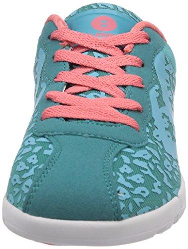 Hummel HUMMEL DAYSTAR - Zapatillas deportivas para interior de material sintético mujer azul - Blau (Latigo Bay 8261)