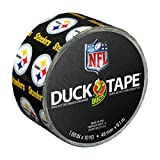 Duck Brand 241410 Pittsburgh Steelers NFL Team Logo Duct Tape, 1.88-Inch by 10 Yards, Single Roll