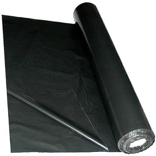 Black/Grey Polythene Sheeting Mulch Mat 4m x 25m 1000 Gauge by True Products True Products ® B6021C