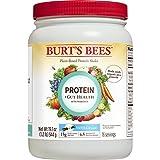 Cheap Burt's Bees Plant-Based Protein Powder, Gut Health + Probiotics and Prebiotics – Vegetarian Pea Protein, 19oz, Vanilla