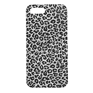 YXF Gray Leopard Pattern Hard Case for iPhone 5/5S