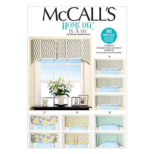 McCall's Patterns M7033 Window Treatments, in One Envelope