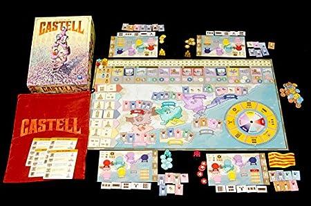 Renegade Game Studios Juego Castell RGS00801: Amazon.es: Juguetes y juegos