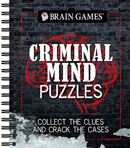 Brain Games - Criminal Mind Puzzles: Collect The Clues And Crack The Cases (Brain Christmas Teaser Trivia)
