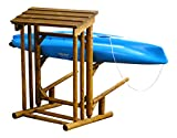 Log Kayak Rack 2-place 4'long Log Kayak/wood Storage Rack