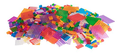 Strictly Briks 1000 Piece Classic Bricks Building Brick Set | 100% Compatible with All Major Brick Brands | Premium Tight Fit Building Bricks in 8 Fun Colors | 9 Different Shapes and Sizes