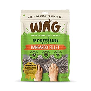 Kangaroo Fillet 750g, Grain Free Hypoallergenic Natural Australian Made Dog Treat Chew, Perfect for Training Click on image for further info.