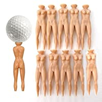 Casualfashion 20Pcs/Pack Naked Lady Golf Tees Nude No Clothes Unique Gift Novelty Fun Golfing