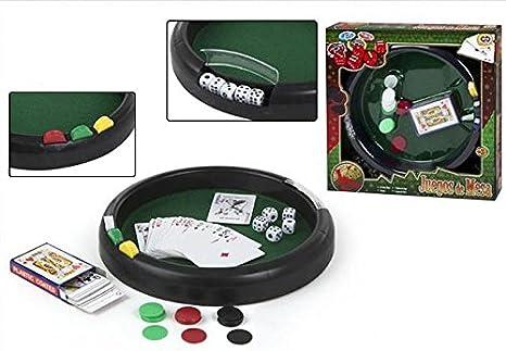 Color Baby - Juego de Mesa: póker-Naipes y Dados, 33 cm (28812 ...