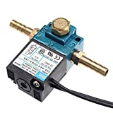 Sunshay Solenoid Air Valve, 3 Port Electronic Boost Control Solenoid Valve 12V 5.4 W for PWM 35A-AAA-DDBA-1BA