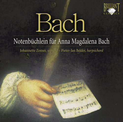 Price comparison product image Notebook for Anna Magdelena Bach
