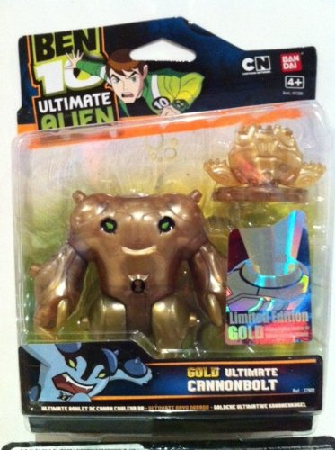 Amazon.com: Ben 10 Oro 10 CM Ultimate Cannonbolt Limited ...