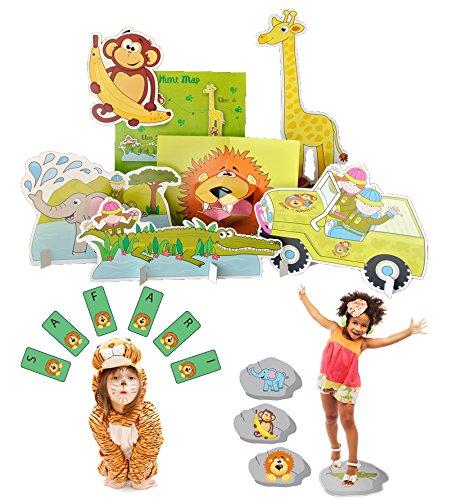 Lello and Monkey Tier Geburtstagsfeier Spiele für Kinder - Satz von 3 Lello and Monkey Limited.