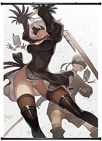 Nier Automata Yorha No.2 Type B Manga Wallscroll Poster Kunstdrucke Bider Drucke