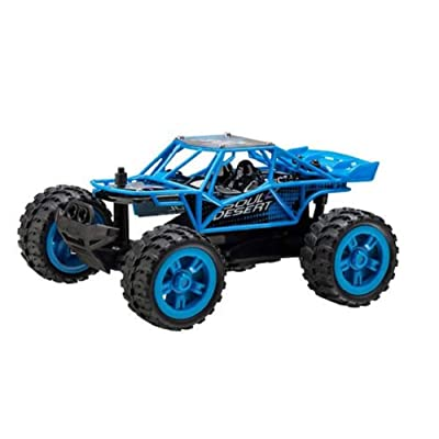 Power Craze High Speed Mini RC Car - Blue: Toys & Games