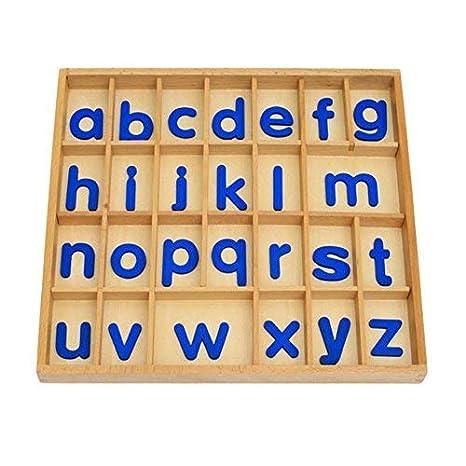 Amazon Com Danni Montessori Materials Wood Letter Activity Box
