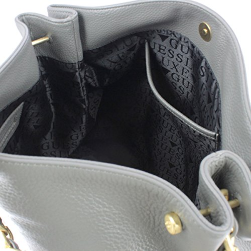 Guess HWKRYSL7402 Hobo Bolso Mujer Negro UNICA GREY