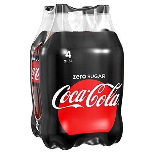 Coca-Cola Zero 4 x 1,5 l