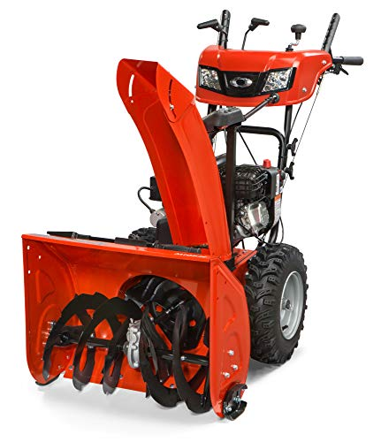 """Simplicity Dual Stage Select Snow Thrower.  24"""" 9.5HP MD.  Model 1696811"""