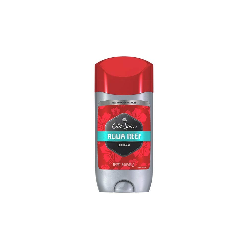 Old Spice Deodorant 3oz Aqua Reef Solid (6 Pack) by Old Spice