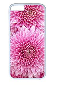 Chrysanthemum Flowers PC Case Cover For Apple Iphone 6 4.7 Inch and Case Cover For Apple Iphone 6 4.7 Inch White
