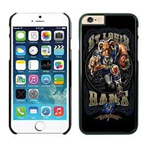 St-Louis Rams 32 iPhone 6 Plus NFL Cases Black 5.5 Inches NIC13583