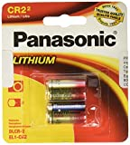 Panasonic CR-2PA/2B 3V Photo Lithium Cylinder 3000mAh Battery