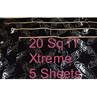 PLAIN PAK Dynamat Xtreme (5) Sheets 18x32 20 FT² Bulk Consumer Grade Sound Damping