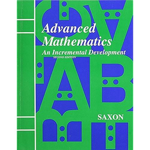 advanced math amazon com rh amazon com advanced mathematical concepts chapter 5 study guide and assessment answers advanced mathematical concepts chapter 3 study guide and assessment answers