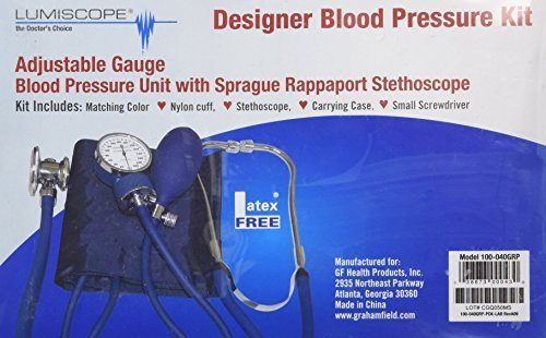 Lumiscope Purple Blood Pressure and Stethoscope Kit by Lumiscope (Grape Stethoscope Kit compare prices)