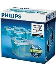 Philips Schoonmaakcartridge - Reinigt tot 10x beter dan water en verwijdert schuim en gel - Geschikt voor SmartClean-systemen - Voor 15 maanden - 5 stuks - JC305/50