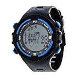 Everlast PD2 Activity Fitness Tracker and Sleep Monitor with Pedometer Watch - Blue