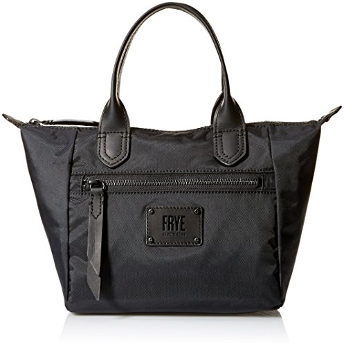 Handbag Small FRYE Ivy Black Nylon Satchel Matte T0TFIw