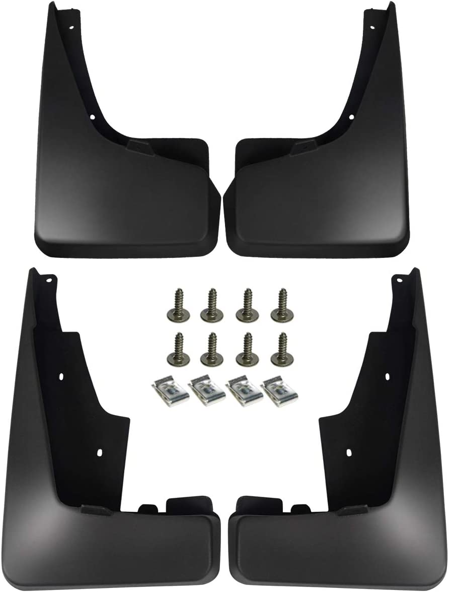 A-Premium Car Splash Guards Mud Flaps Molded Mudflaps Replacement for Jeep Patriot MK Series 2011-2016 Front and Rear 4-PC Set