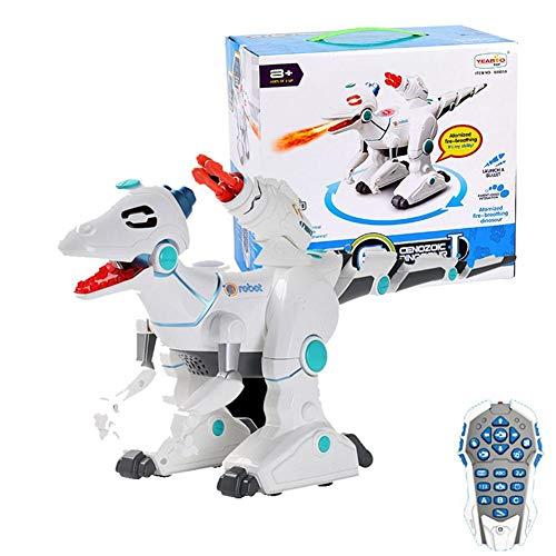 fervory Steckenpferde Fernbedienung Dinosaurier Roboter RC Drachenroboter Dinosaurier W/Lights, Sound Kid Toys…