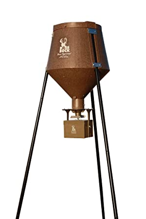 Boss Buck 200 lb  All-in Protein and Corn Feeders