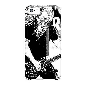 Iphone 5c GJh7849eBKi Custom Lifelike Amon Amarth Band Pictures Shock Absorbent Hard Phone Cover -Marycase88