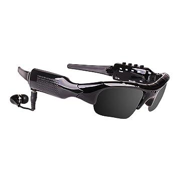 Headset Auriculares Bluetooth Inteligentes de ZDDAB, con Gafas de Sol polarizadas inalámbricas Video de la