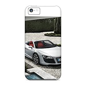 Fashionable Style Case Cover Skin For Iphone 5c- Audi R8 Cabriolet