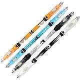 DSstyle Office School High Grade LED照明ペン学生中性ペンボールペンとして最適なギフト(ランダムクリスタルロッド) ブルー LQQ-ho0105-aa95