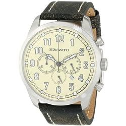 Szanto Men's SZ 2002 2000 Series Classic Vintage Inspired Watch