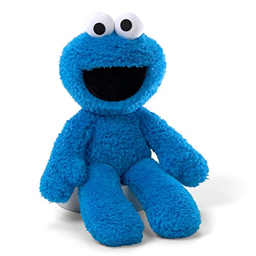 Gund Sesame Street Cookie Monster Take Along Stuffed - Toy Dog Gund White