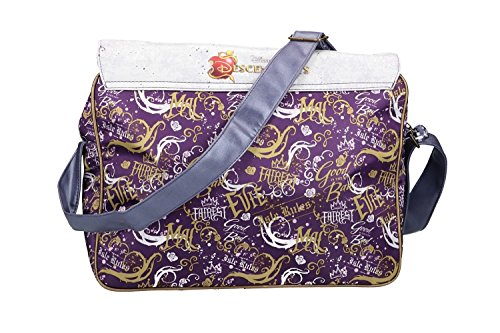 VN2485 niño violeta DISNEY bolsa SHOP Bandolera bandolera PAM DESCENDANTS messenger axqgBUzq
