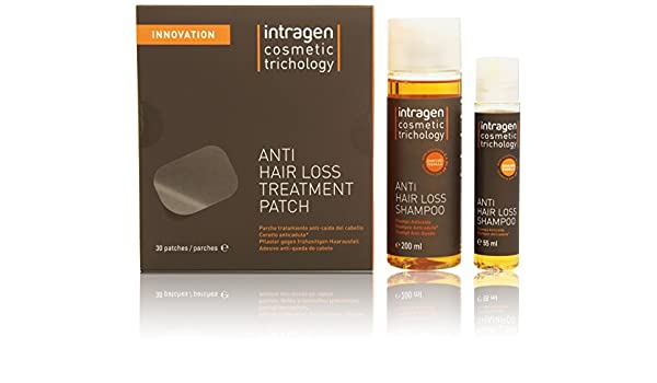 Tratamiento anti caida pack parches intragen: Amazon.es: Belleza