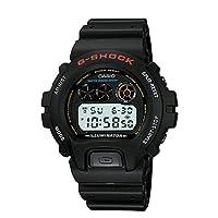 Casio - Reloj deportivo de resina de cuarzo G-Shock para hombre, color: negro (Modelo: DW-6900-1VQ)