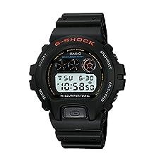 Casio Men's DW-6900-1VQ G-Shock Resin Black Dial Watch