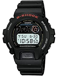 Casio Mens DW-6900-1VQ G-Shock Black Resin Digital Dial Watch