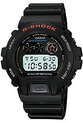 Casio Men's DW-6900-1VQ G-Shock Black Resin Digital Dial Watch